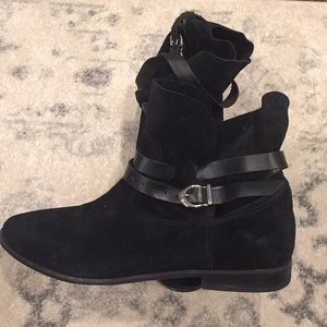 Free People Jeffrey Campbell Leather Ankle Booties